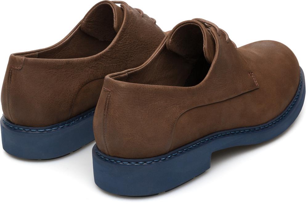 Camper Neuman Brown Flat Shoes Women K200510-003
