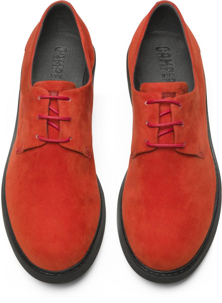 Camper Neuman Red Flat Shoes Women K200510-005