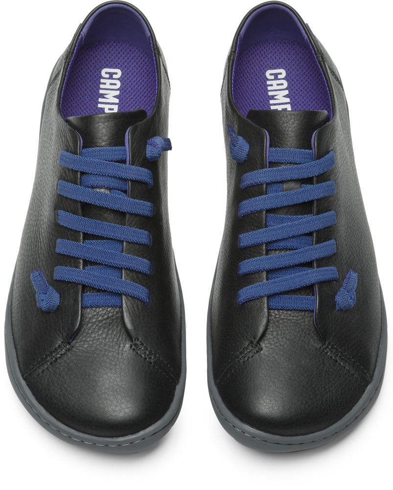 Camper Peu Black Flat Shoes Women K200514-001