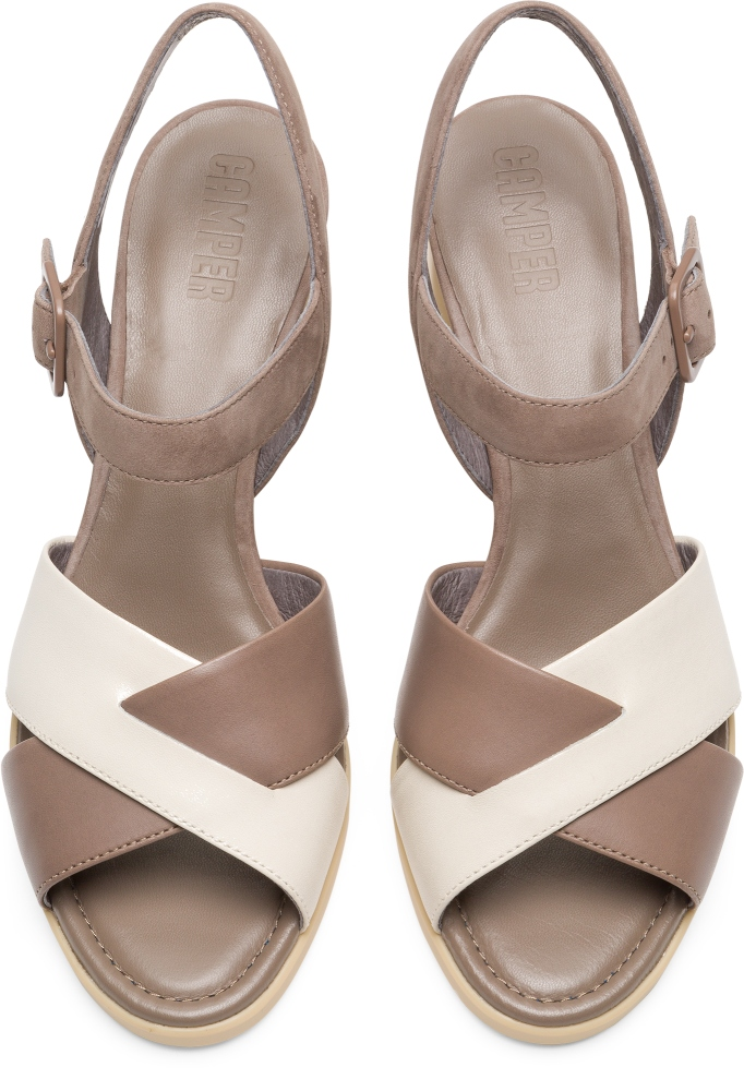Camper Kara Beige Formal Shoes Women K200558-002