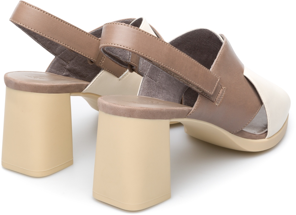 Camper Kara Beige Formal Shoes Women K200559-002