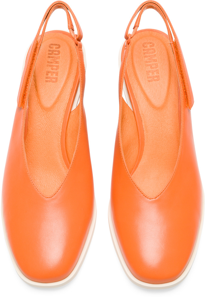 Camper Brooke Orange Formal Shoes Women K200561-002