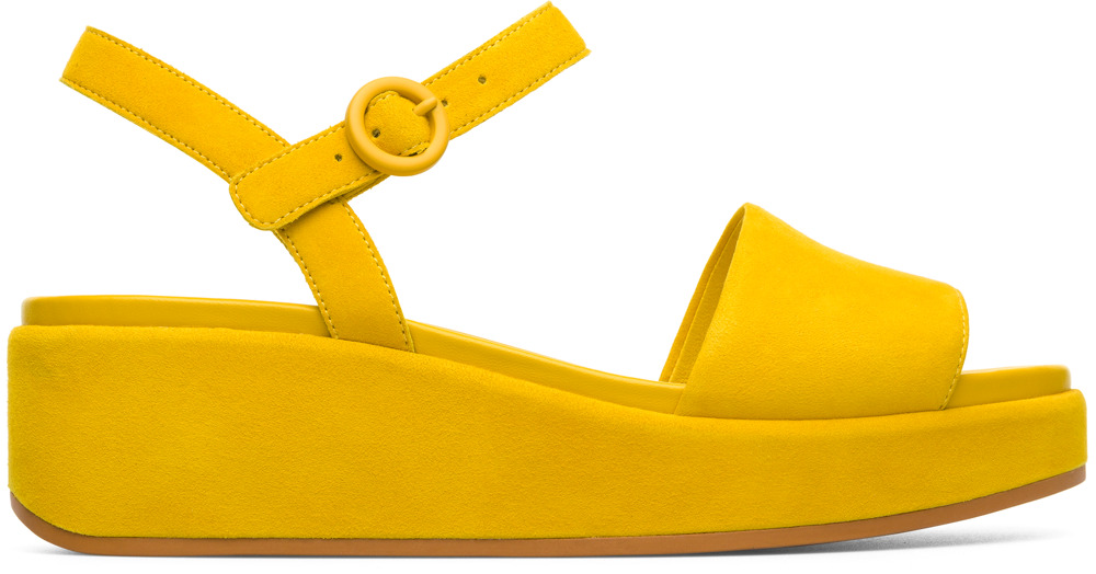 Camper Misia Yellow Formal Shoes Women K200564-003