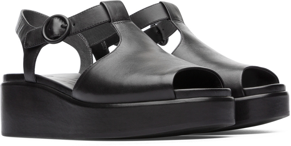 Camper Misia Black Formal Shoes Women K200568-001