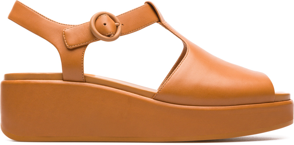 Camper Misia Brown Formal Shoes Women K200568-003