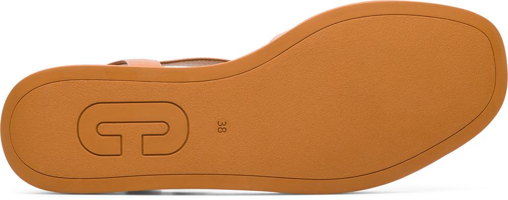 Camper Misia Brązowy Eleganckie buty Kobiety K200568-003