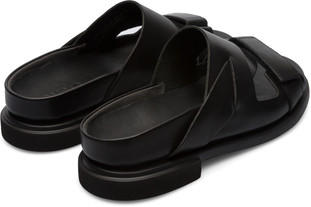 Camper Eda Black Flat Shoes Women K200570-001