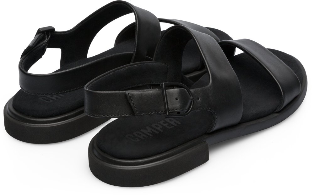 Camper Edy Black Flat Shoes Women K200573-002