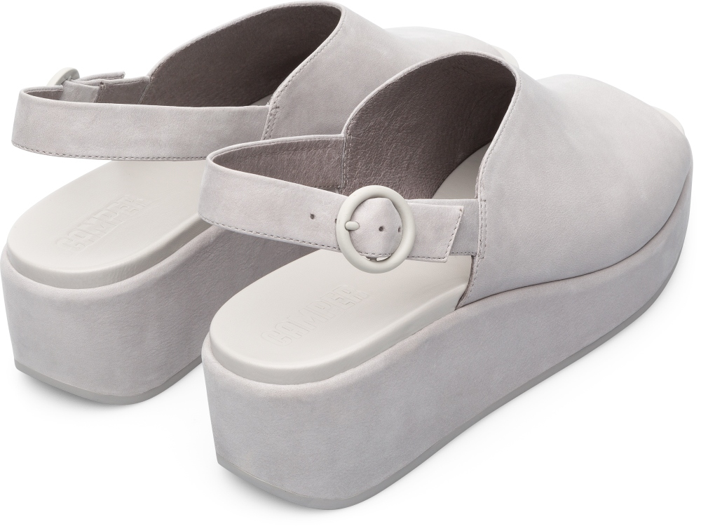 Camper Misia Grey Formal Shoes Women K200592-002