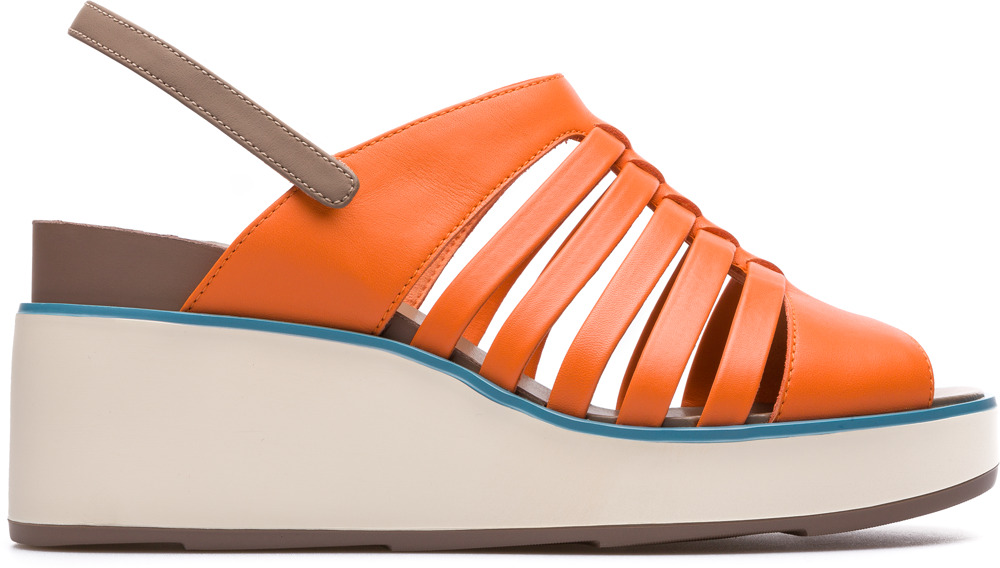 Camper Tropik Orange Casual Shoes Women K200594-002