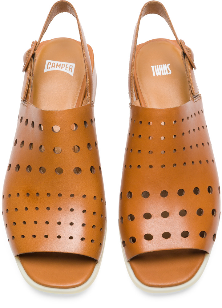 Camper Twins Brown Formal Shoes Women K200598-002