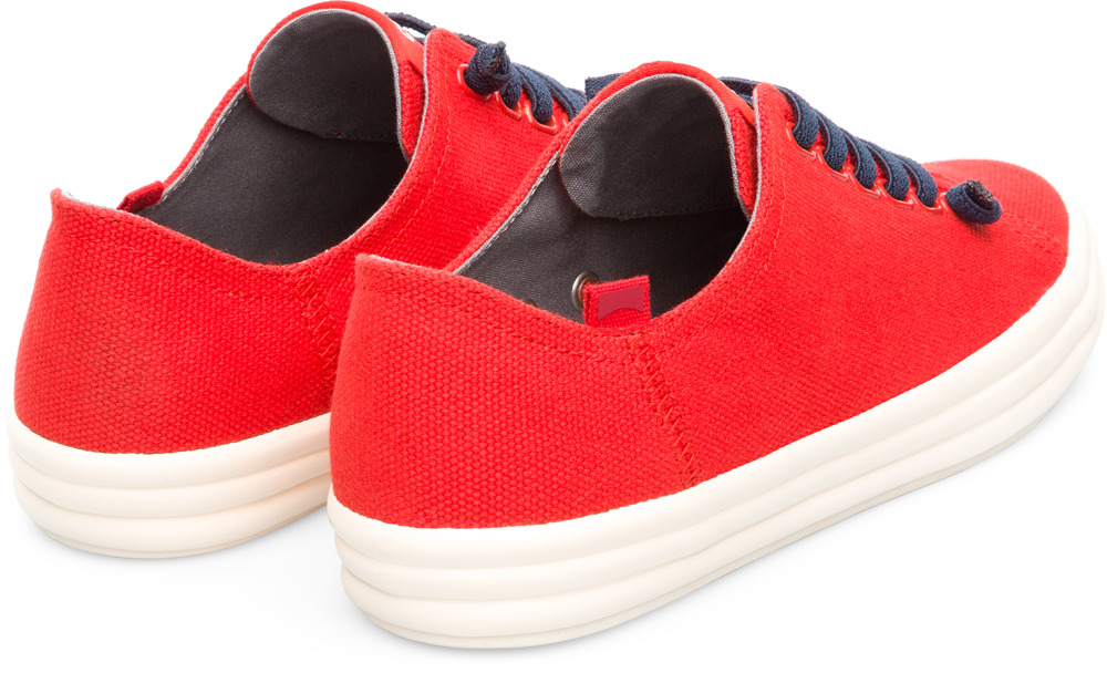 Camper Hoops Red Casual Shoes Women K200604-007