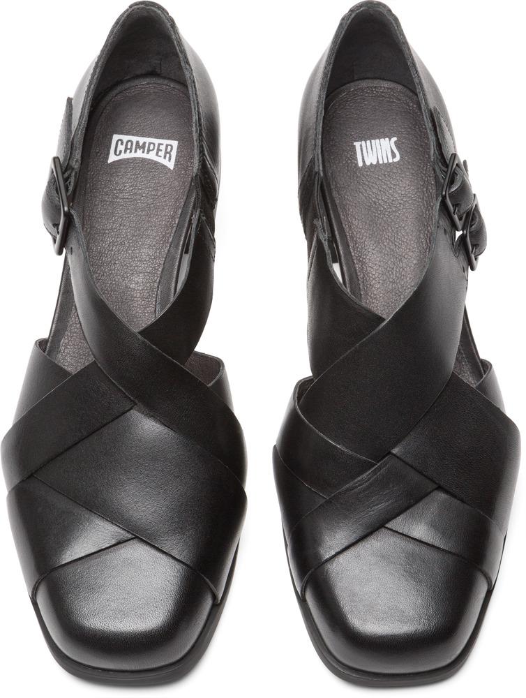 Camper Twins Czarny Eleganckie buty Kobiety K200606-001