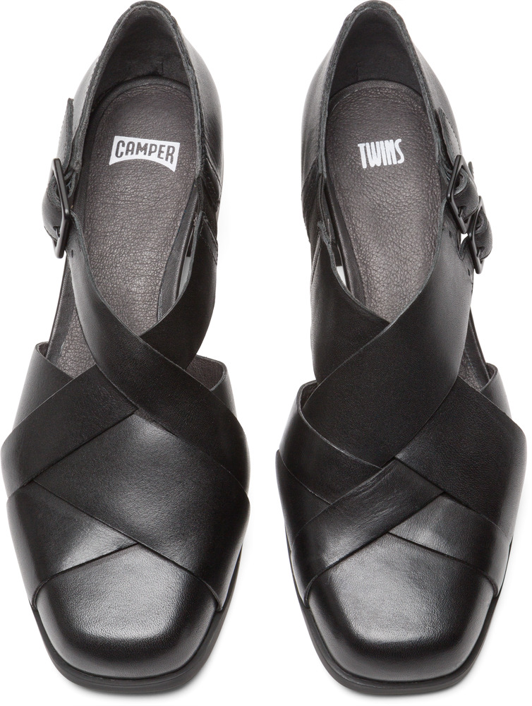 Camper Twins Nero Scarpe formali Donna K200606-001