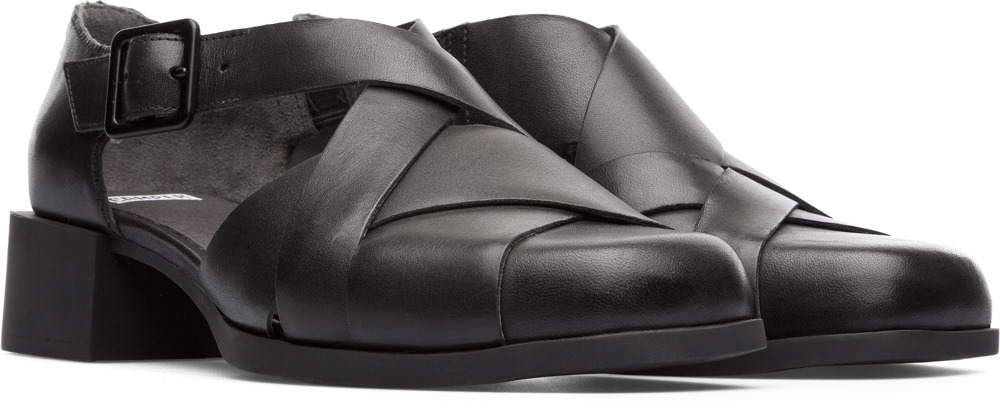 Camper Twins Black Formal Shoes Women K200606-001