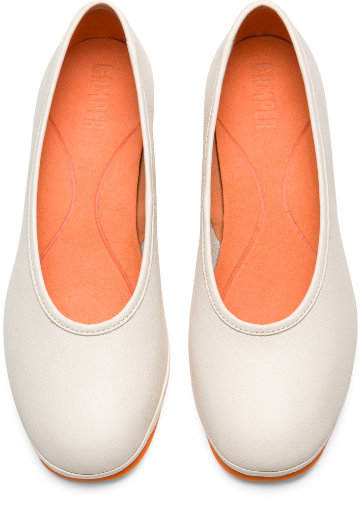 Camper Alright Beige Formal Shoes Women K200607-001
