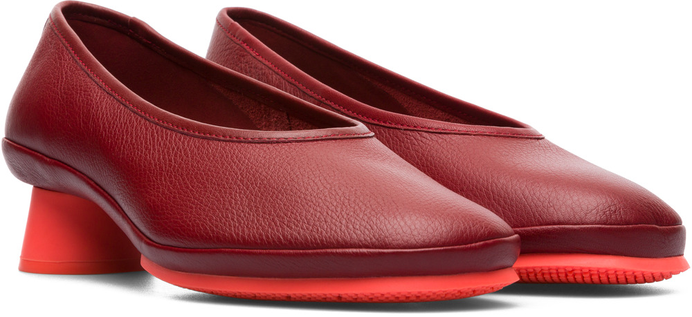 Camper Alright Red Formal Shoes Women K200607-005