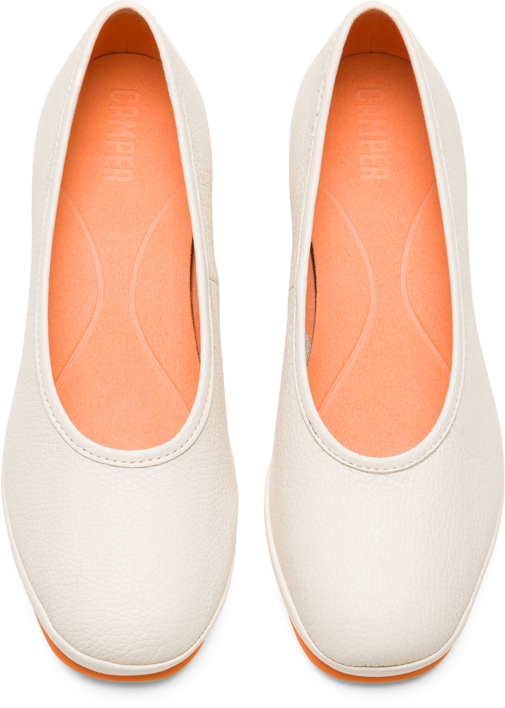 Camper Alright Beige Formal Shoes Women K200607-015