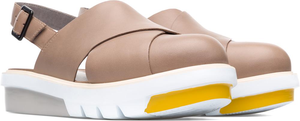 Camper Marta Beige Formal Shoes Women K200610-003
