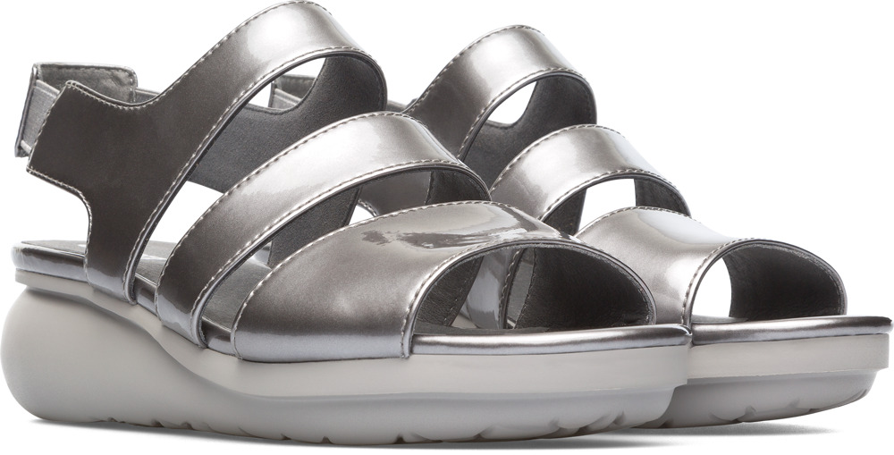 Camper Balloon Grey Casual Shoes Women K200611-007