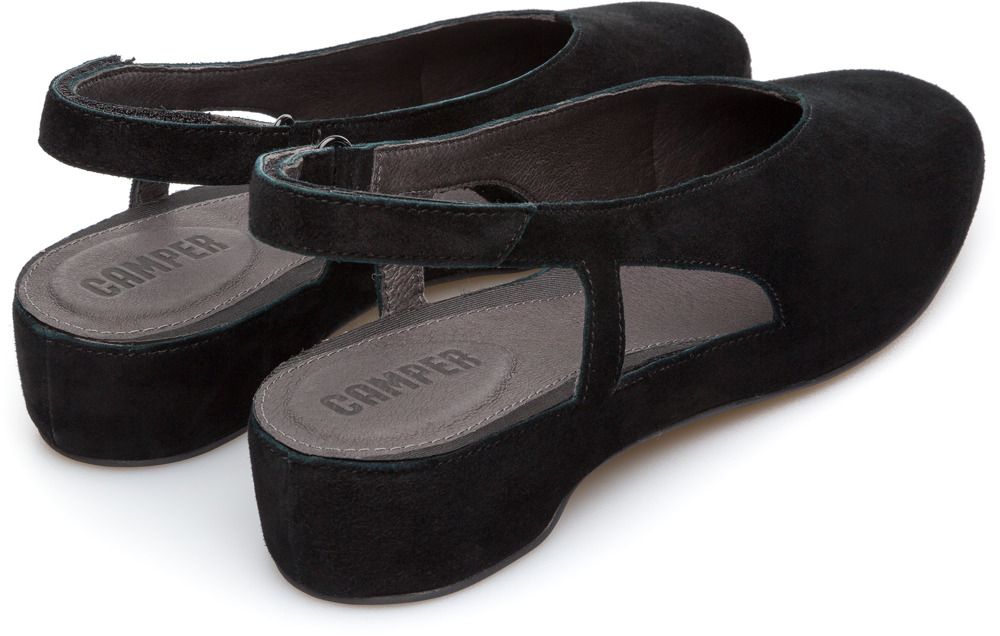 Camper Serena Black Flat Shoes Women K200617-003