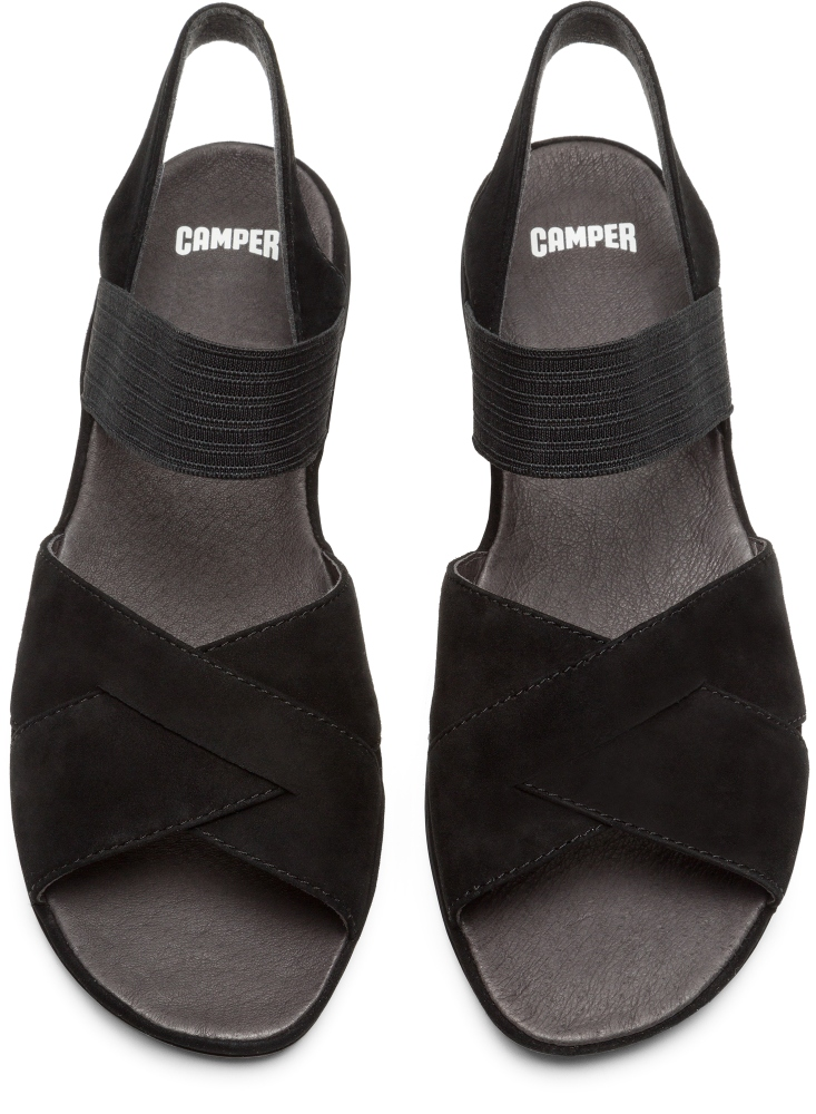 Camper Right Black Casual Shoes Women K200619-003