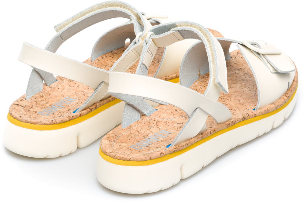 Camper Oruga Beige Flat Shoes Women K200631-001