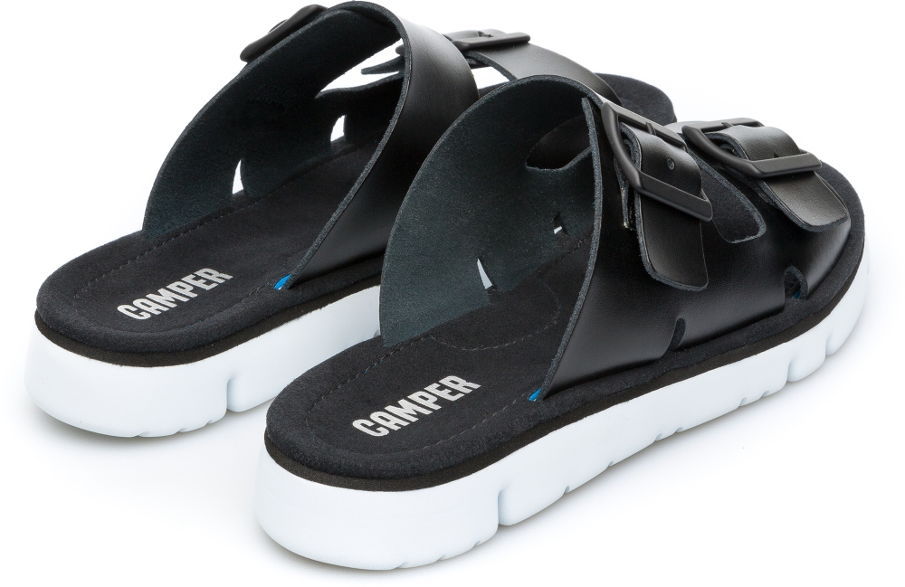 Camper Oruga Black Flat Shoes Women K200633-001