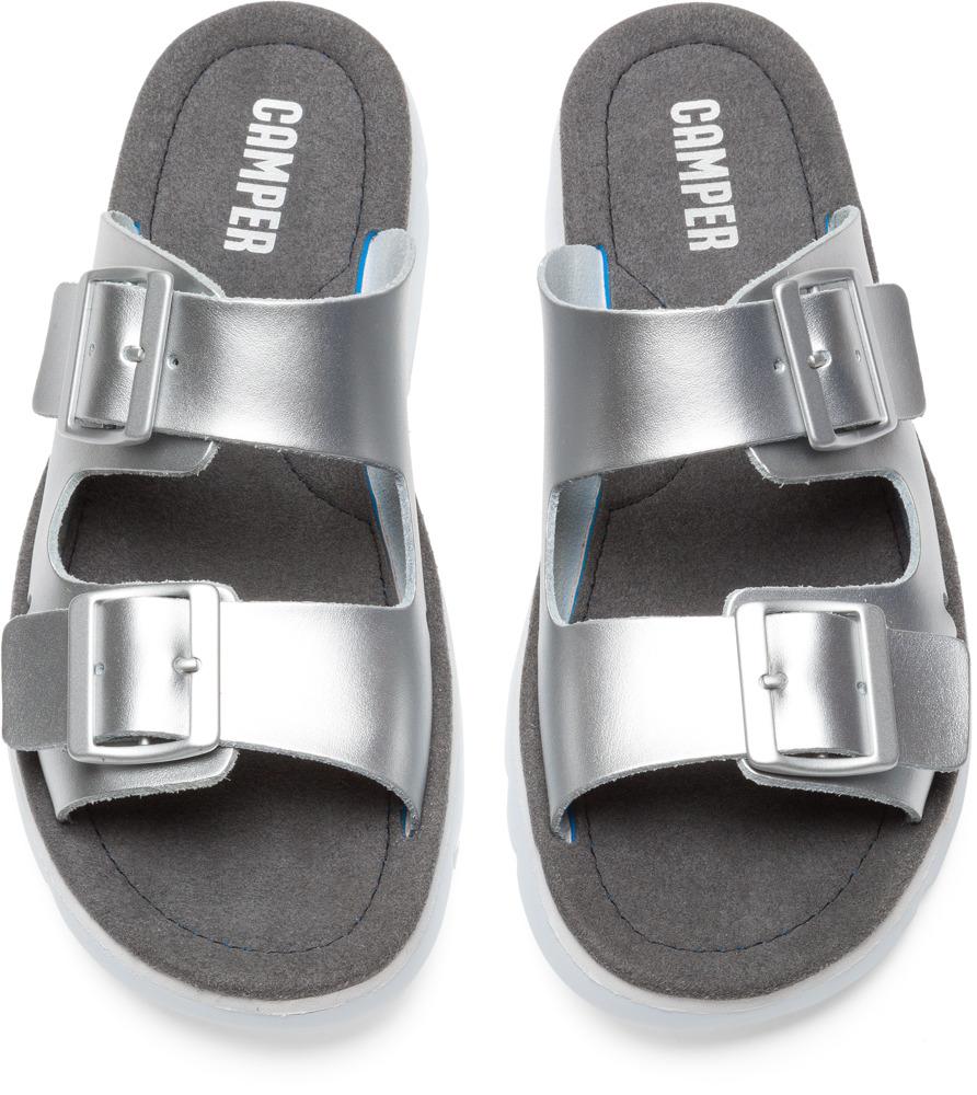 Camper Oruga Cinza Sapatos rasos Mulher K200633-002