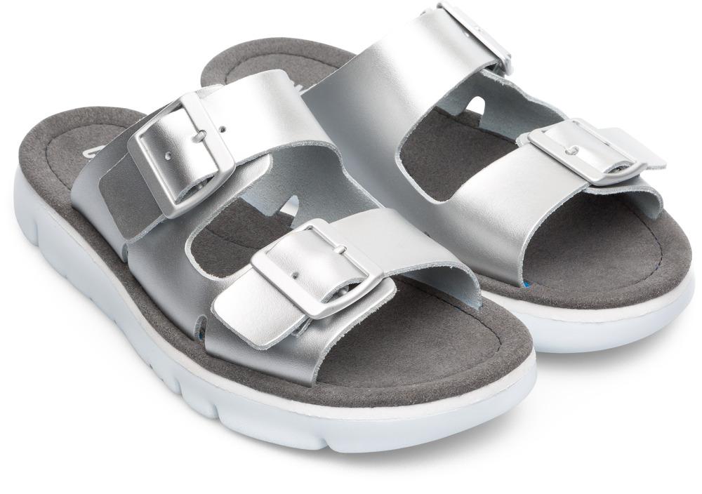 Camper Oruga Gris Chaussures plates Femme K200633-002