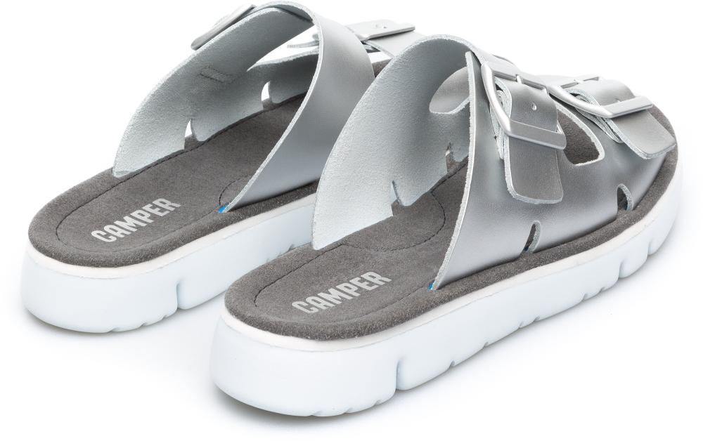 Camper Oruga Grau Flache Schuhe Damen K200633-002