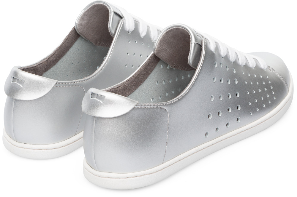 Camper Twins Grey Flat Shoes Women K200636-002