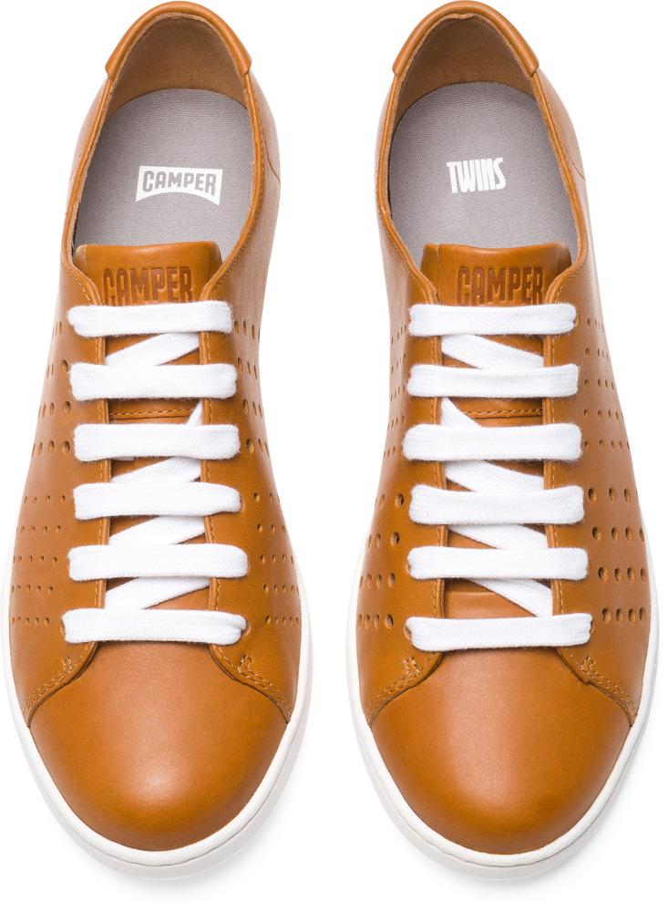 Camper Twins Marron Zapatos Planos Mujer K200636-003
