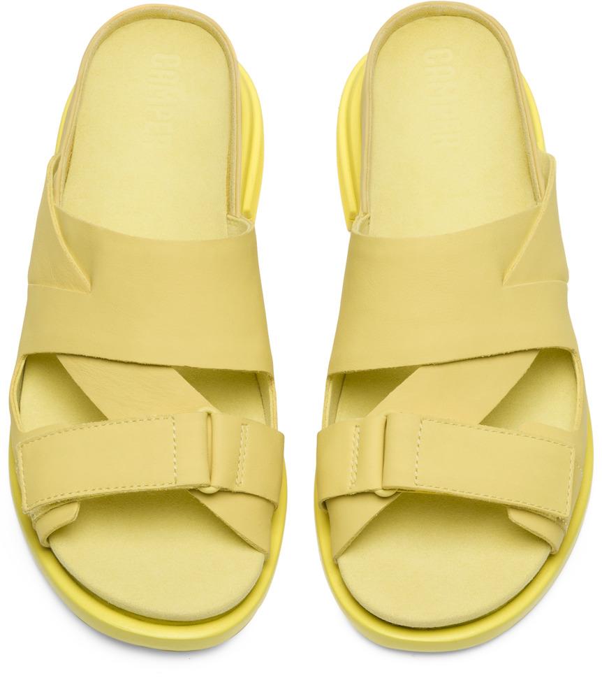 Camper Eda Amarillo Zapatos de vestir Mujer K200637-004