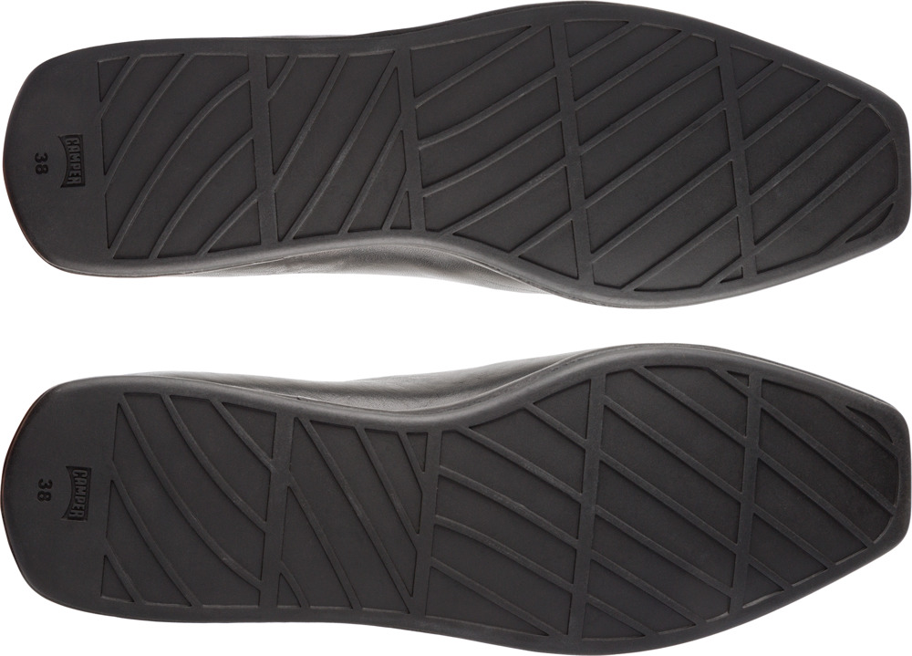 Camper Twins Black Flat Shoes Women K200657-002