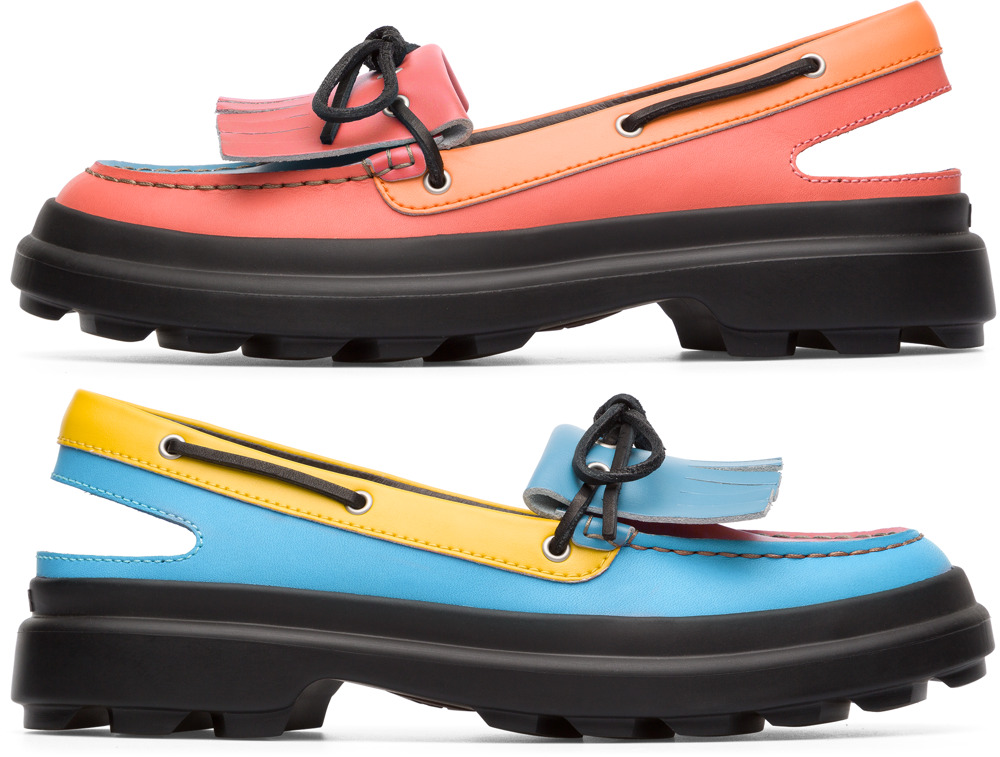Camper Twins Multicolor Flat Shoes Women K200658-001