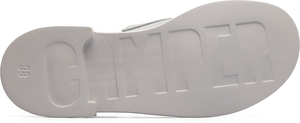 Camper Eda Grey Flat Shoes Women K200668-001