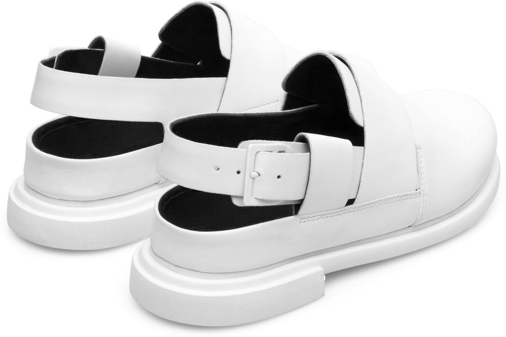 Camper Eda White Formal Shoes Women K200668-004