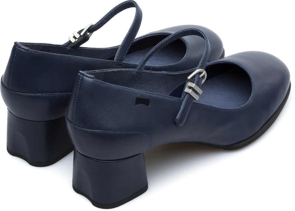 bc24d739b291 Camper Katie Blue Formal Shoes Women K200694-002. FEATURES  Smooth leather