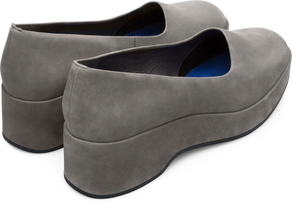Camper Sisea Grey Formal Shoes Women K200697-002