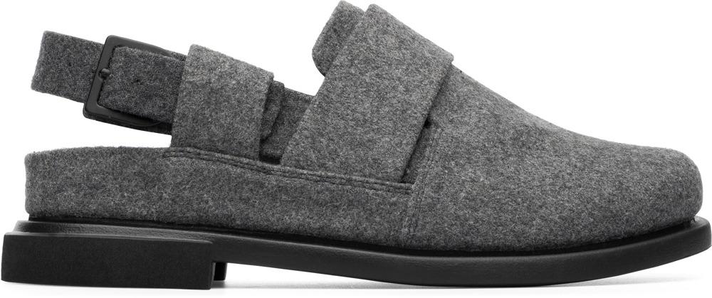 Camper Eda Grey Formal Shoes Women K200703-003