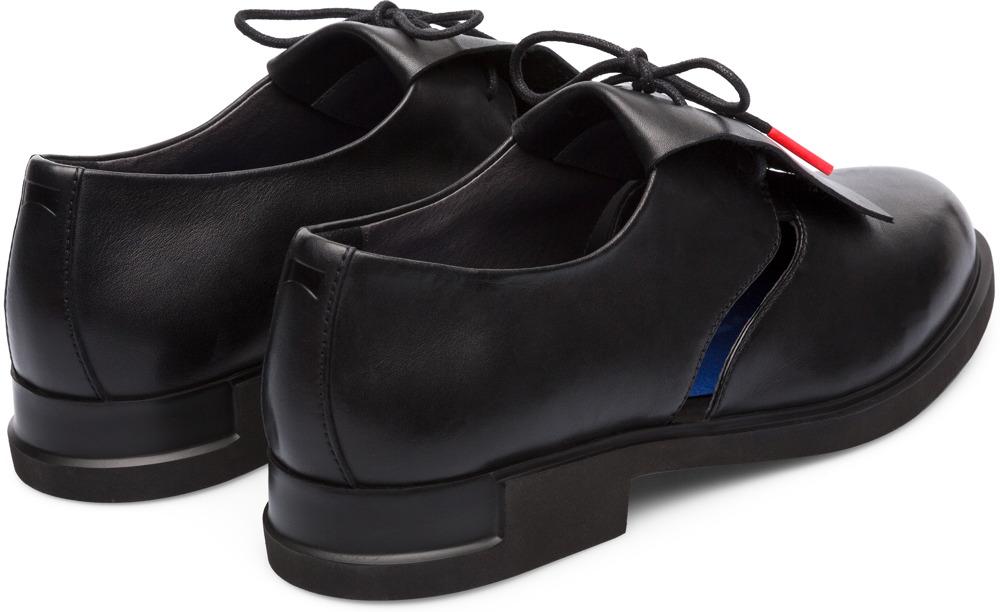 Camper Twins Negro Zapatos de vestir Mujer K200718-003