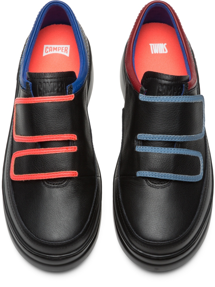 Camper Twins Zwart Sneakers Dames K200728-001