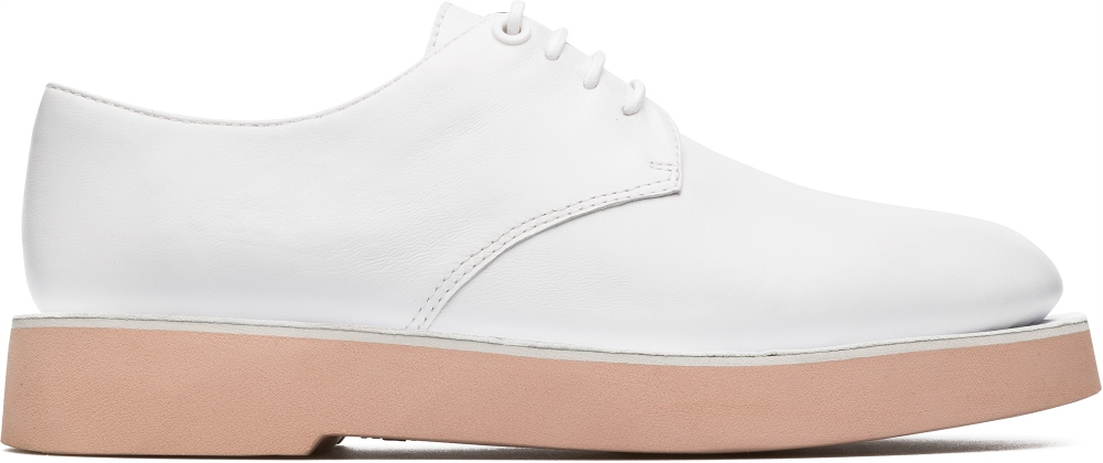 Camper Tyra White Formal Shoes Women K200734-001