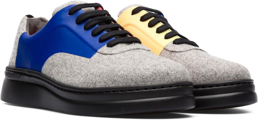 Camper Twins Grijs Sneakers Dames K200739-001