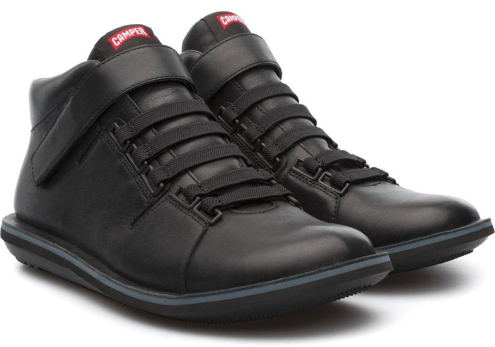 Camper Beetle Black Ankle boots Men K300004-002