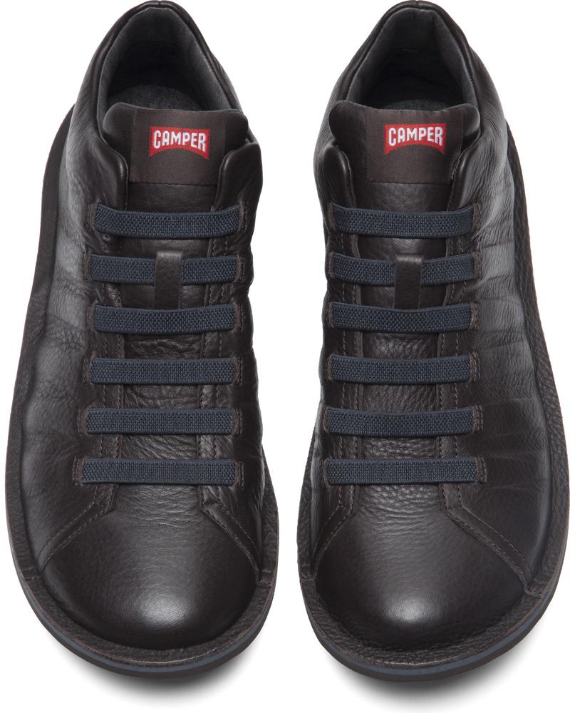 Camper Beetle Brown Ankle Boots Men K300005-010