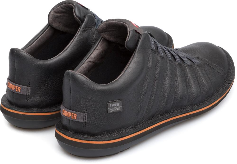 Camper Beetle Negro Zapatos Casual Hombre K300005-011