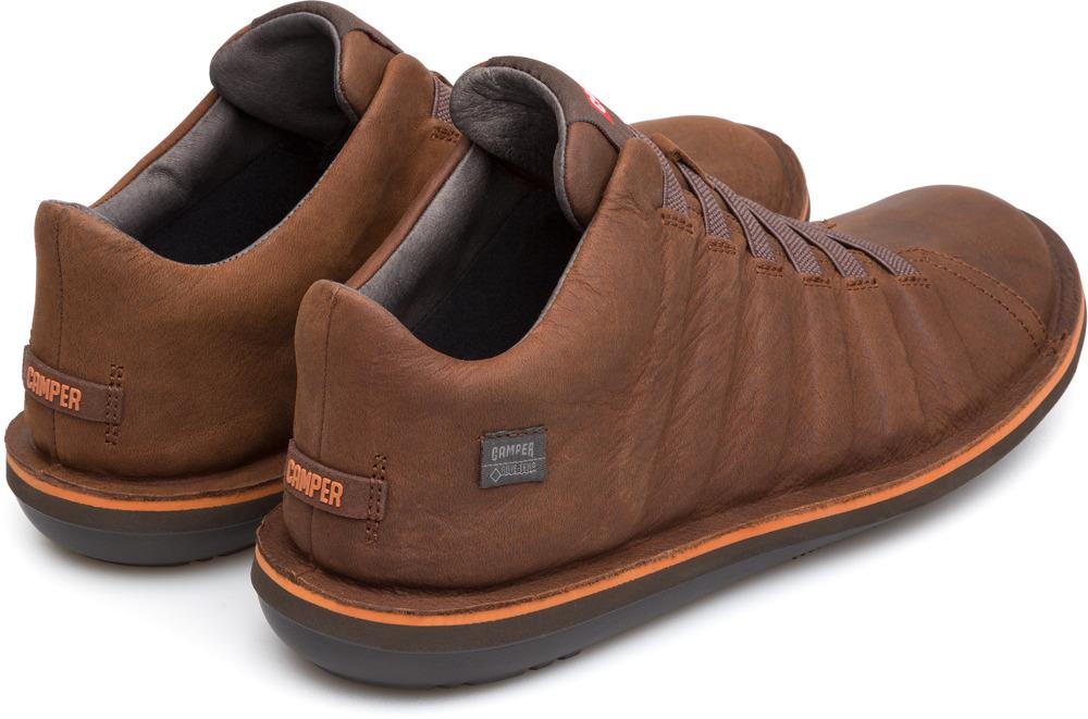 Camper Beetle Marron Zapatos Casual Hombre K300005-014