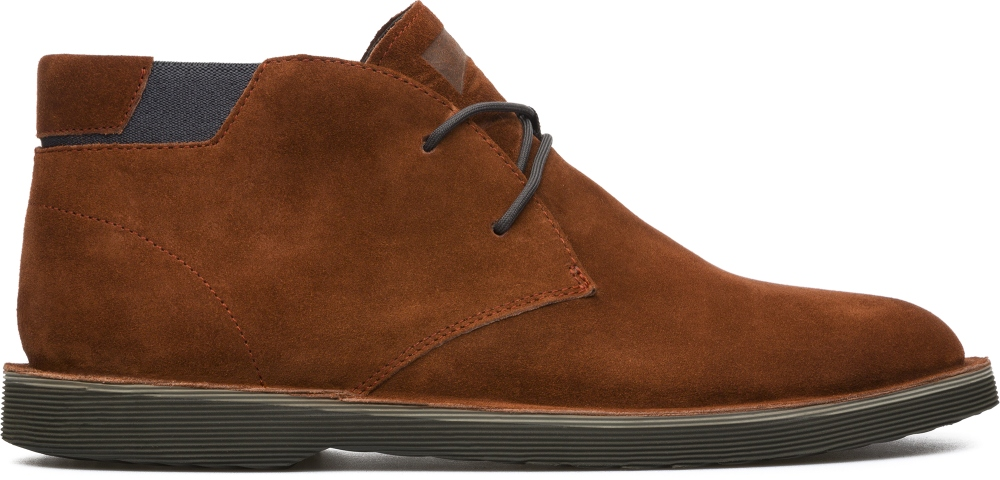 Camper Morrys Brown Ankle boots Men K300035-008